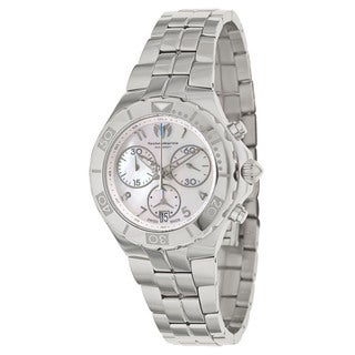 TechnoMarine Women's Sea Pearl Stainless Steel Mother of Pearl Watch