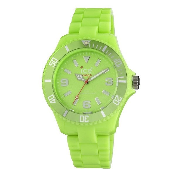 Ice Watch Unisex CFGNBP10 'Classic' Green Plastic Watch