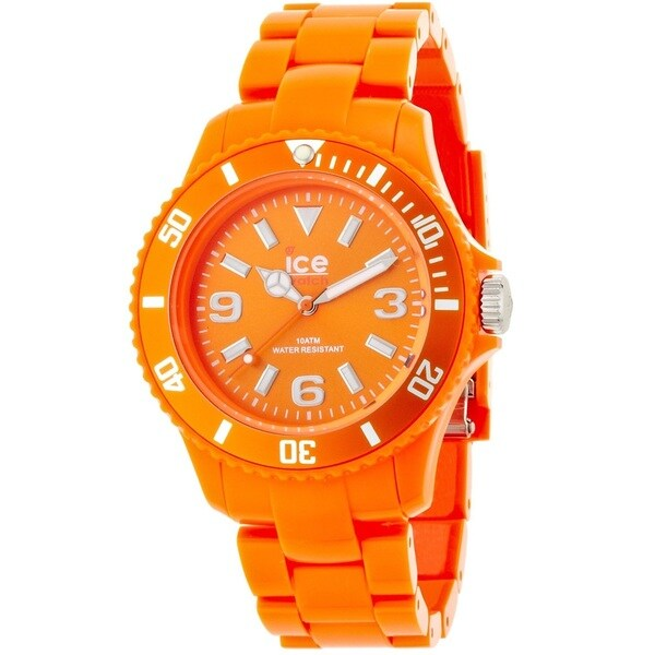 Ice Watch Unisex CSOEUP10 'Classic' Orange Plastic Watch