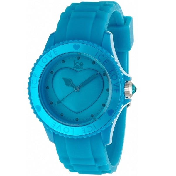Ice Watch Unisex LOFBUS11 'Love' Blue Silicone Watch