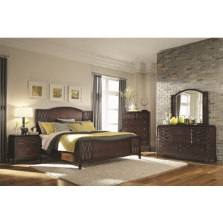 Biscayne Bay Rich Brown 5-piece Bedroom Set