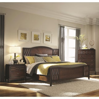 Biscayne Bay Rich Brown 3-piece Bedroom Set