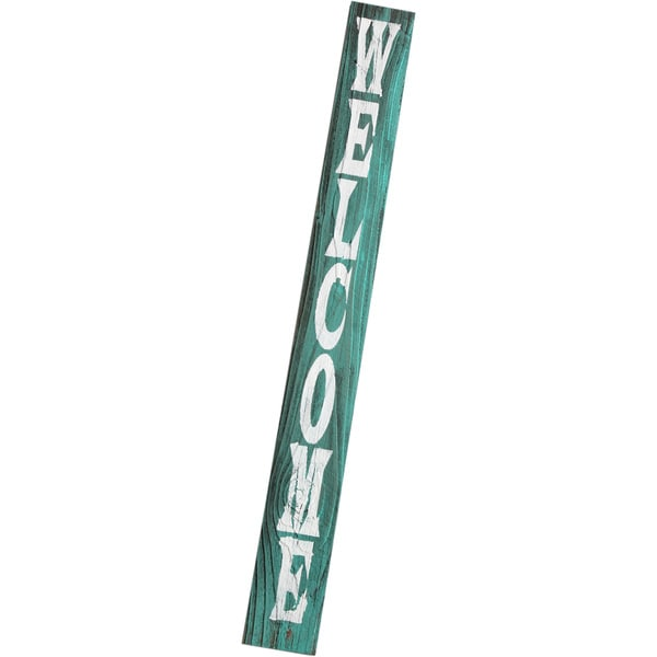 Hand-painted Barn Wood Welcome Sign