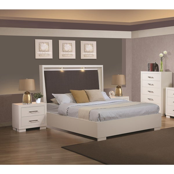 Sag Harbor White 3-piece Bedroom Set