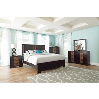 Guanacaste Charcoal Brown 5-piece Bedroom Set