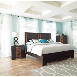Guanacaste Charcoal Brown 4-piece Bedroom Set