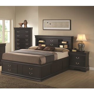 Blackhawk Black 3-piece Bedroom Set
