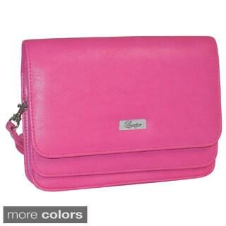 Buxton Double Flap Mini Bag