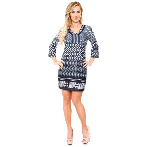 White Mark Women's 'Khloe' Dress