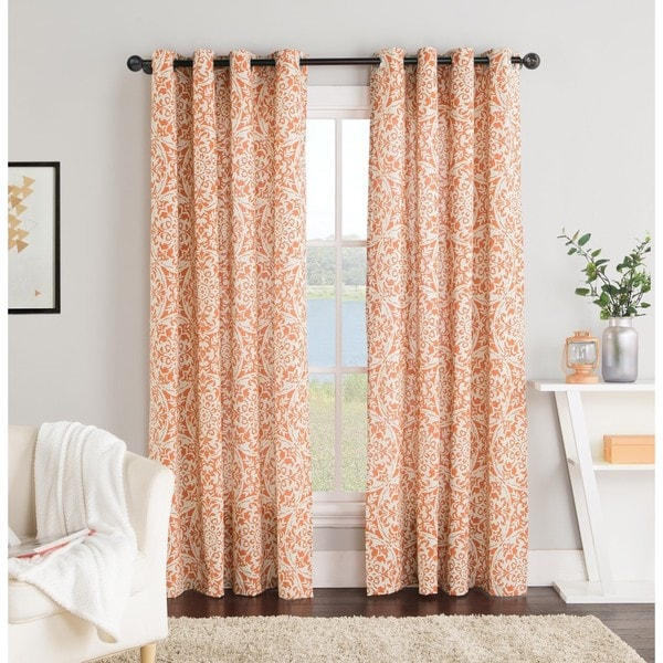 VCNY York 84-Inch Grommet Top Curtain Panel
