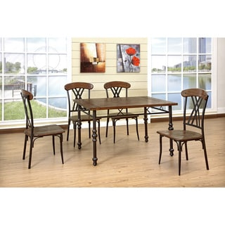 5-piece Medium Oak Dinette Set