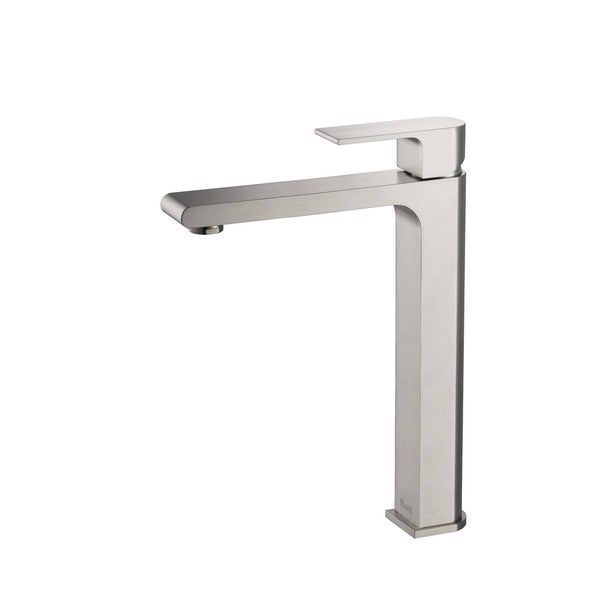 Rivuss Danube Brushed Nickel Solid Brass Single-lever Bathroom Vessel Sink Faucet