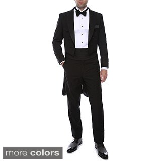Ferrecci Men's Italian Designed Regular Fit Tail Tuxedo