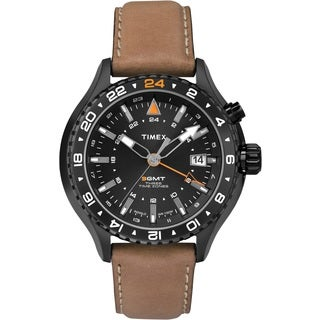 Timex T2P427DH Intelligent Quartz 3-GMT Watch