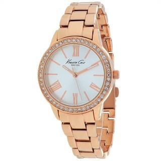 Kenneth Cole Women's 10019994 Classic Round Rosetone Bracelet Watch