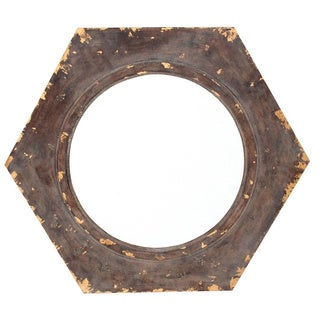 Metal Bronze Wall Mirror Decor