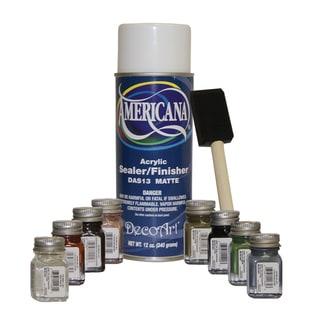 Testor's Americana Sealer/ Brush Touch-up Paint Kit