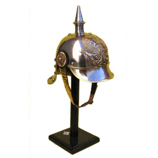 Brass Medieval Pickelhaube Helmet