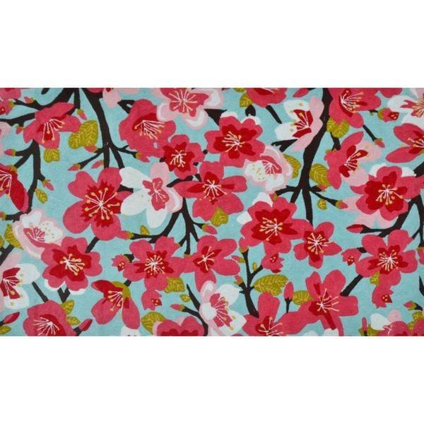 Rosa Damascena Polyester Rugh (5' x 8')