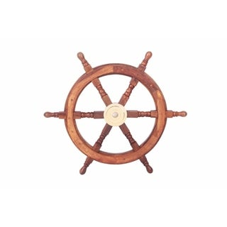 Bologna Wooden Ship Wheel