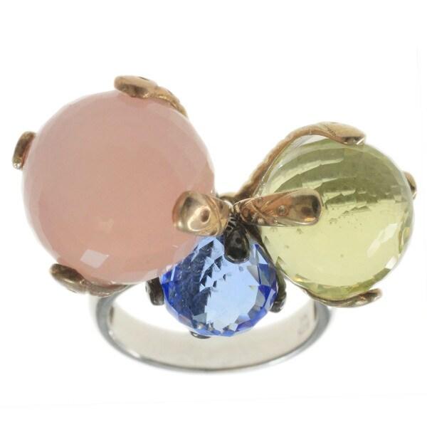 Michael Valitutti Muti Coloured Gemstones Ring