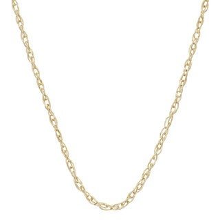 Gioelli 14k Gold Lightweight 18-inch Link Chain