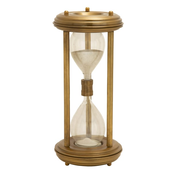 Brass Frame Hourglass Sand Timer
