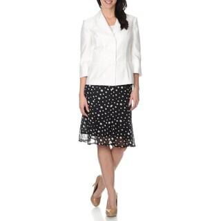 Danillo Women's Crepe 2PC Jacket & Skirt Set