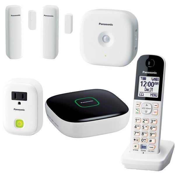 Panasonic KX-HN6003W DIY Home Monitoring and Control Kit
