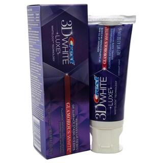 3D White Luxe Glamorous White Fluoride Anticavity 4.1-ounce Toothpaste