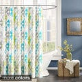 Ink+Ivy Sierra Cotton Printed Shower Curtain--2 Color Options