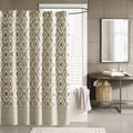 Ink+Ivy Ankara Cotton Printed Shower Curtain--2 Color Options