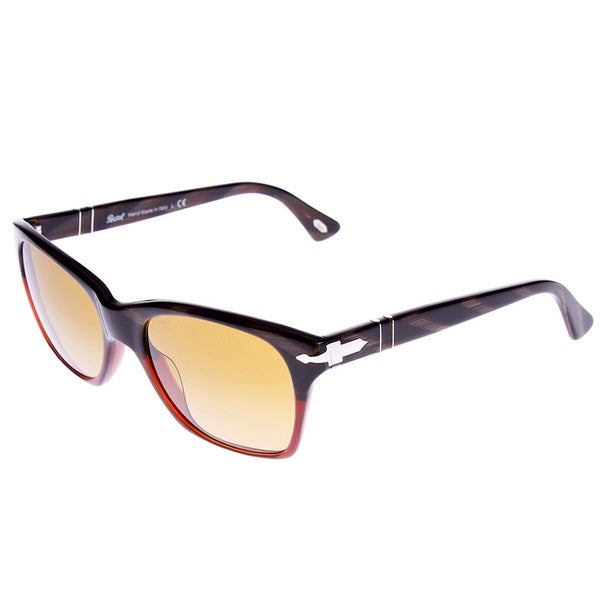 Persol Modernist Havana Dark Horn Red Sunglasses