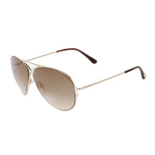 Tom Ford FT0142 28F Peter Gold Unisex Sunglasses