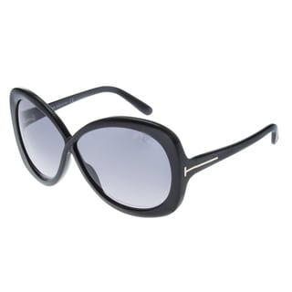 TOM FORD TF266-01B ELISE BLACK SUNGLASSES