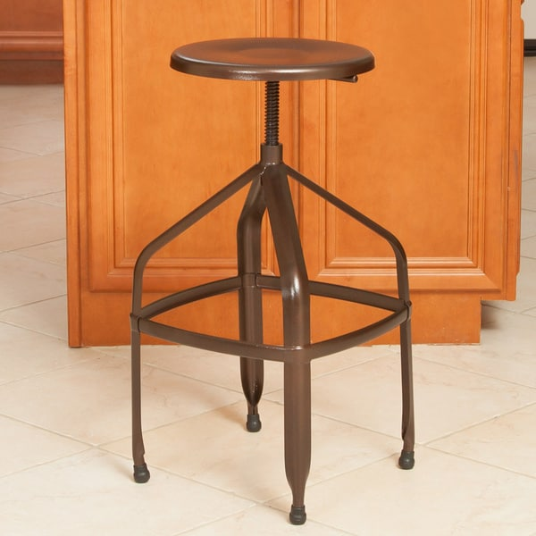 Natalia Steel Swivel Stool