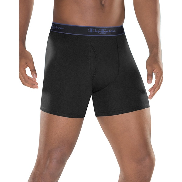 Champion Performance Cotton Regular Boxer Brief 3-Pack 15122673