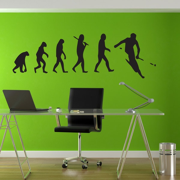 Ski Evolution Sticker Vinyl Wall Art
