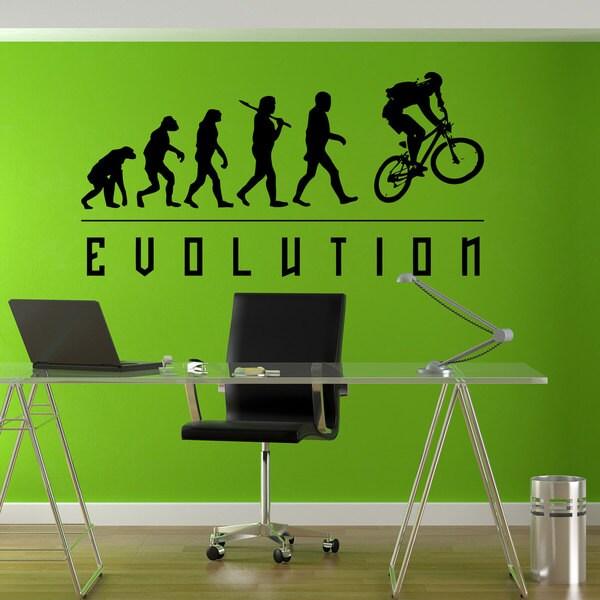 BMX Evolution Sticker Vinyl Wall Art