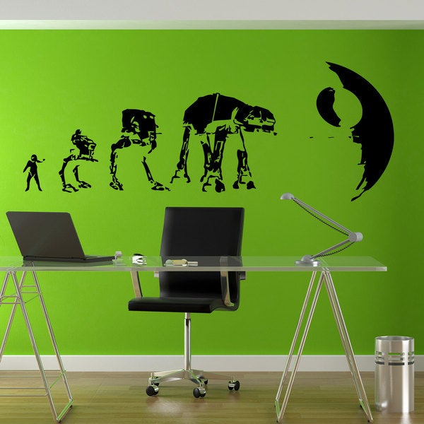 Star Wars Evolution Sticker Vinyl Wall Art