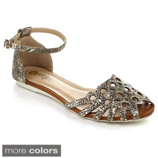 MACHI TASHA-2 Women's Flat Strappy Sandals