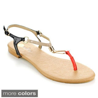 MACHI SUMMER-1 Women's T Strap Sandals