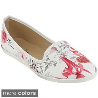 MACHI SCARLET Women's Cute Casual Flats
