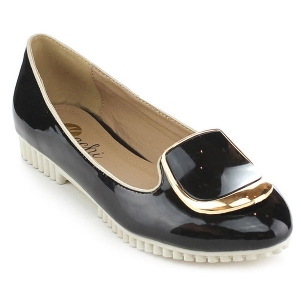 MACHI QUEENIE Women's Sweet Slip On Flats
