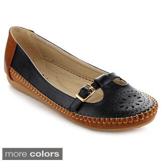 MACHI KIKI-1 Women's Friendly Slip-On Loafers
