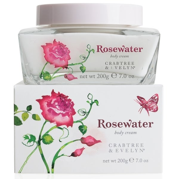 Crabtree and Evelyn Rosewater 7-ounce Body Cream