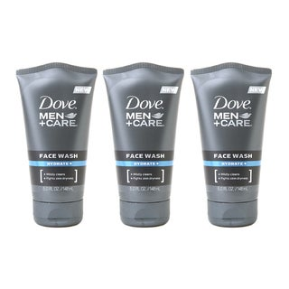 Dove Men + Care Hydrate 5-ounce Face Wash (Pack of 3)