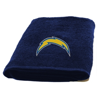 NFL Chargers Applique Bath Towel