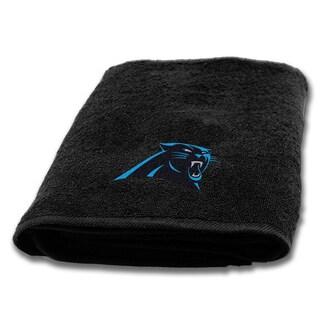 NFL Panthers Applique Bath Towel