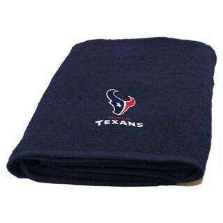 NFL Texans Applique Bath Towel